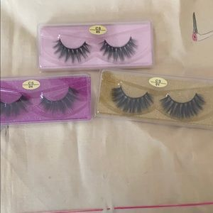 25mm mink eyelashes 3 for the price of 1